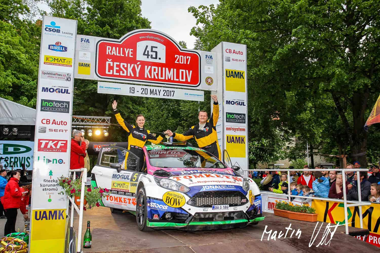 TOMKET Rallye Krumlov 2017